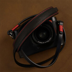 Leather Strap Neck Shoulder Belt Handmade For Sony Fuji Leica Digital Camera New