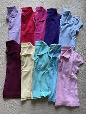 New listing Children's Place Girls Uniform Polos; Bundle/Lot Of 8; Size 5/6