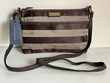 NEW! TOMMY HILFIGER EAST WEST BROWN MESSENGER CROSSBODY SLING BAG PURSE $69 SALE