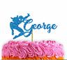 Spiderman Cake Topper Superhero Theme Birthday Cake Topper Glitter Topper