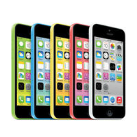 Apple iPhone 5C - 8GB/16GB /32GB - White/Pink/Green/Yellow - (UNLOCKED/SIM FREE)