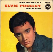 """ELVIS PRESLEY """"ROCK AND ROLL N° 1"""" FRENCH 60'S EP RCA VICTOR 86 290 (10-1967)"""