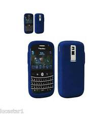 Coque Blackberry Bold 9000 Silicone BLEU ORIGINAL