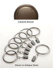 Designer Metals Drapery Rings (Caramel Bronze)!!  (1832054)