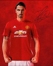 Zlatan Ibrahimovic #4 (Man Utd) - 10X8 Pre-impresas de impresión fotográfica de calidad de laboratorio