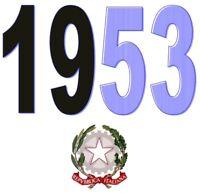 ITALIA Repubblica 1953 Singolo Annata Completa integri MNH ** Tutte le emissioni