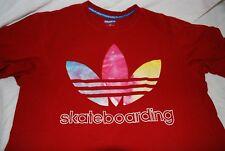 Adidas Skateboarding Tre Foil Tie Dye Logo T shirt Large