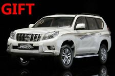 Car Model Toyota Land Cruiser Prado 1:18 (White) + SMALL GIFT!!!!!