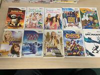 10 Nintendo Wii Games Lot - Girls/Kids Wholesale Lot