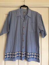 Watsons Heavies jeans wear Short sleeved Shirt Pale Blue Size M/L