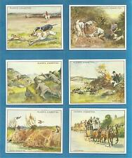 Players cigarette cards - COUNTRY SPORTS - Full mint condition set .