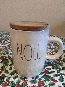 """RAE DUNN """"NOEL"""" Iridescent Christmas ~ Holiday MUG ~ NEW!"""