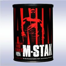 UNIVERSAL NUTRITION ANIMAL M-STAK (21 PACKS) anabolic bcaas stimulant stack pak