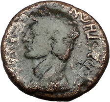 CLAUDIUS 45AD Antigonos Strategos of Thessalian League Ancient Roman Coin i36474