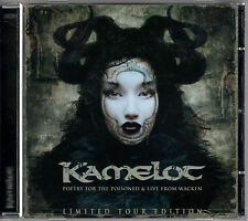 KAMELOT poetry for the poisoned 2CD LTD TOUR EDITION w/live WACHEN Power Metal