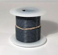26 AWG UL1007 UL1569 Hook-up Wire 100 foot spools GRAY ~ 10 Colors Available!
