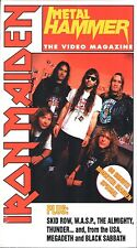 Metal Hammer - Iron Maiden (VHS, 1998) - FACTORY SEALED!