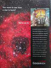 7/2001 PUB BF GOODRICH NEXT GEN SPACE TELESCOPE ESPACE OPTICAL SYSTEMS AD