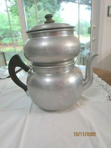 Vintage Drip o Lator Aluminum Coffee Maker 6-8 cups