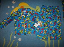 Yo Gabba Gabba Pajamas Sleepwear 2pc Set Boys 2T 3Toddler Zoom Crash Bam! NWT