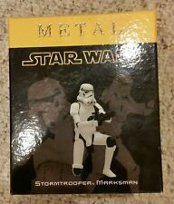 Star Wars ATTAKUS METAL STORMTROOPER MARKSMAN PEWTER Figure Limited Edition