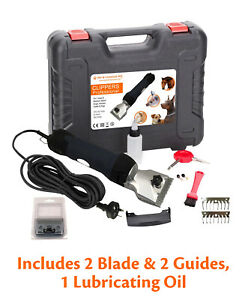 380W professional electric animal clippers heavy duty horse dog pet grooming kit