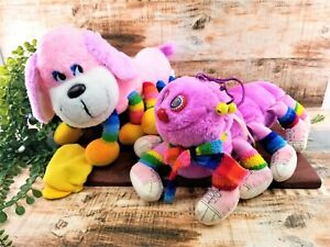 Lots a Lots a Leggggggs Caterpillar and Dog Plush Commonwealth 1984 Lot 2 VTG