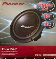 "PIONEER TSW254R 10"" SINGLE 4 OHM SUBWOOFER"