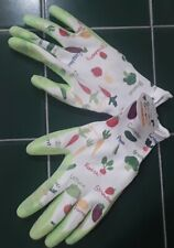 NWT Gardening Gloves Veggies Fruits Multicolor Garden Kids Size Large Ages 8+
