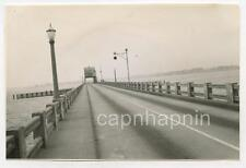 Vintage 1940s Photo Pascagoula Bridge Pascagoula Mississippi MI