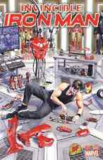 INVINCIBLE IRON MAN #1 DYNAMIC FORCES EXCLUSIVE MIKE MAYHEW COVER MARVEL 2015