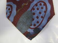 Raffaello SILK Tie Necktie 57 x 4 red blue green 13677 Free US Ship