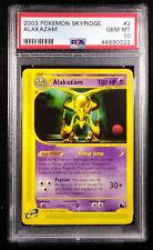 PSA 10 Alakazam 2 Non-Holo Skyridge 2003 Gem Mint Card