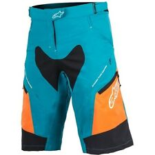 "Alpinestars Womens Stella Drop 2 Shorts Ss17 28"" Blue/orange"