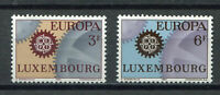 S10401) Luxembourg 1967 MNH Europa 2v
