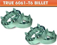 "4 Wheel Adapters 6x4.5 to 6x5.5 ¦ Tahoe Yukon Wheels on Durango Spacers 1"""