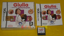 GIULIA PASSIONE VETERINARIA Nintendo Ds Versione Ufficiale Italiana »» COMPLETO