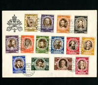 Vatican Rare Old Time First Day Stamps Including E's