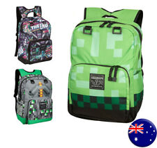 JINX Minecraft Official Childrens Kids Large Creeper Backpack School Bag