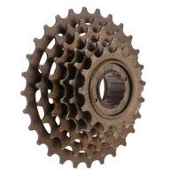 Prettyia 14-28 Teeth Freewheel 6 Speed Cyclocross Bike Cassette Cogs Gears