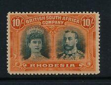 Rhodesia 1910 SG 164 MM cat. £400