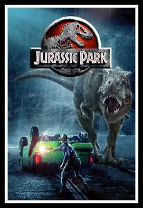 Jurassic Park Movie Poster Print & Unframed Canvas Prints