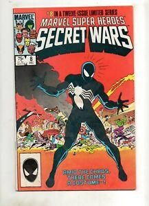 Marvel Super-Heroes Secret Wars #8 1 2 4 5 6 7 9 10 11 12 SET RUN no #3 VG to NM