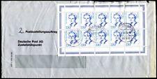 Bund 1997 1940 petit Auchinleck Arc zustellauftrgäge 22 DM affranchissement (a9155b