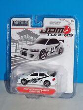 JADA METALS Diecast JDM Tuners 2002 Mitsubishi Lancer Evolution 7 White