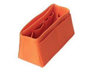 Tapered Felt Bag Organizer, Birkin 25 30 35 40 Kelly 32 Purse Insert Handbag
