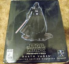Gentle Giant Star Wars Darth Vader Animated Maquette Statue 6668/7000 read