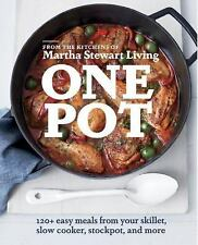 ONE POT - MARTHA STEWART LIVING (COR)/ HOLMES, CHRISTINA (PHT) - NEW PAPERBACK B