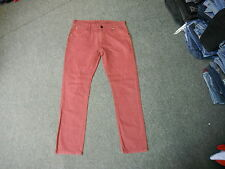 """Next Slim Jeans Waist 32"""" Leg 30"""" Faded Red Mens Jeans"""