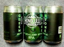 New Empty Honolulu Beerworks Green Stone Ipa Craft Beer 12 oz Can Hawaii